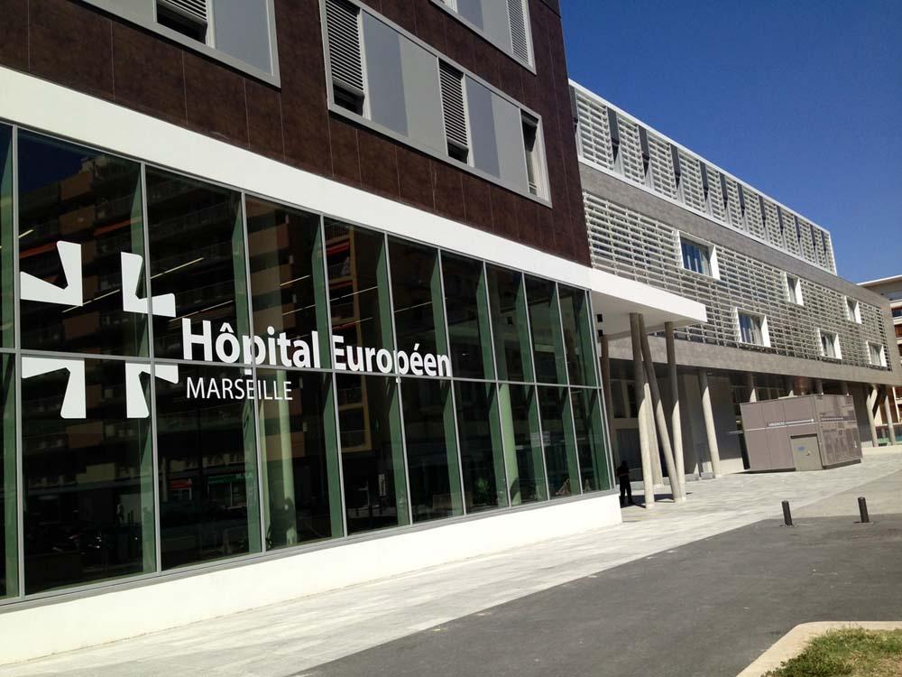 Hôpital Européen de Marseille Whoog remplacement de personnel de santé pour les professionnels